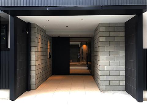 西成の集合住宅