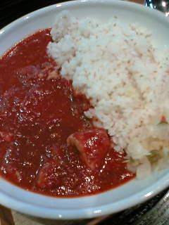 トマトの煮込みカレー720円