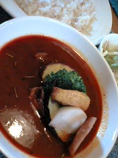 札幌スープカレー980円