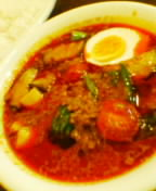 野菜とひき肉のカリー900円