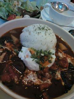 本日のスープカレー1050円