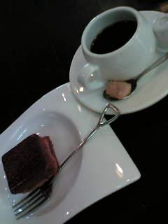 本日のプチデザート&プチコーヒー