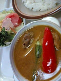 スープカリ550円+ライス変更50円