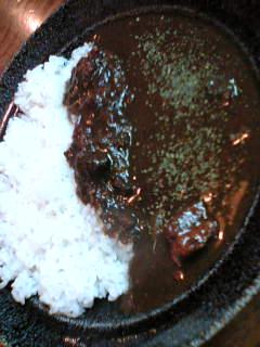 JB辛口カレー730円(ライス少なめ)