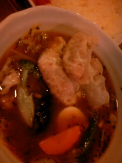 餃子スープカレー800円+3辛40円