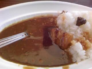 梅山豚の角煮カレー300円