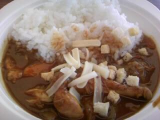 チキンスープカレー200円