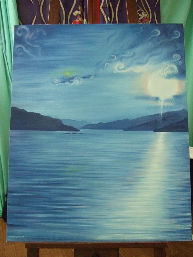 風景画(浜名湖)