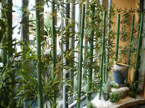 問題の竹のコーナー