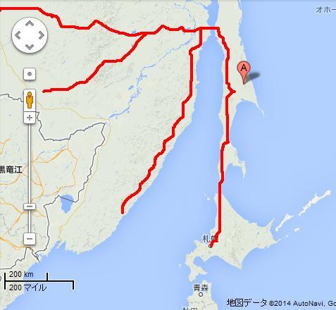 日本とロシアを繋ぐパイプラインの計画