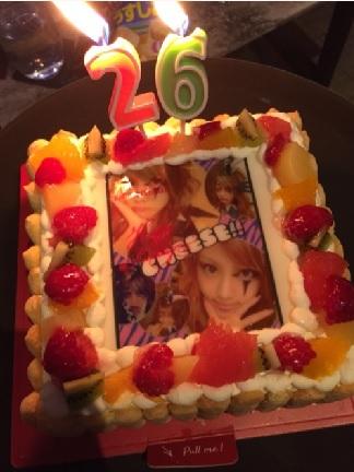 れいな の誕生日ケーキ