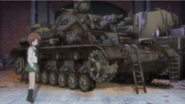四号戦車 修理前