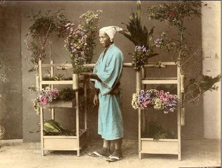江戸時代の花屋2