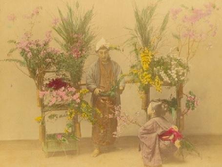 江戸時代の花屋3