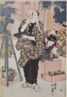 江戸時代の花屋4