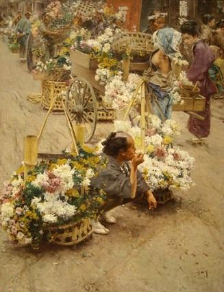 江戸時代の花屋6