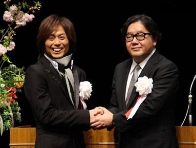 秋元さん と つんく♂さん