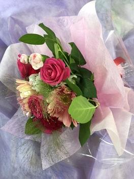 祝いの花束
