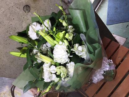 お彼岸の花束