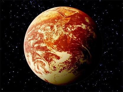 宇宙戦艦ヤマトの地球 核戦争後の地球