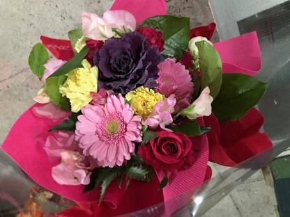 花屋 最後の花