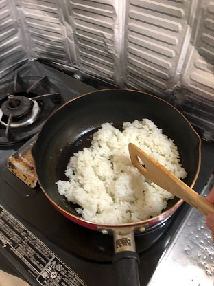 卵炒めご飯3