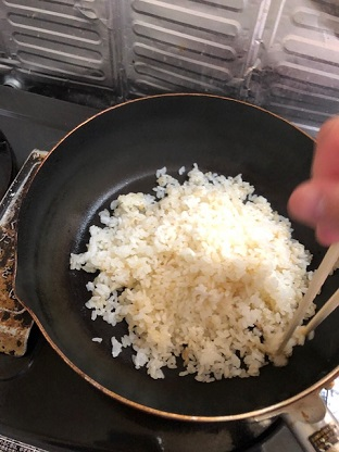 卵炒めご飯6