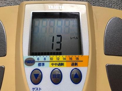 やや肥満???(恐怖)