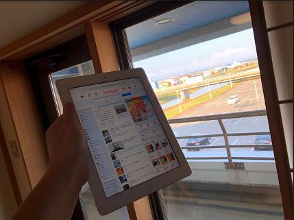 Wi-Fi専用の中古ipadが大活躍
