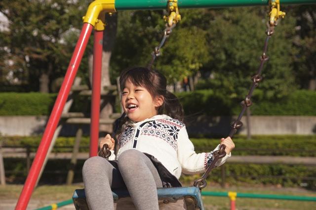 しほちゃんと公園b2