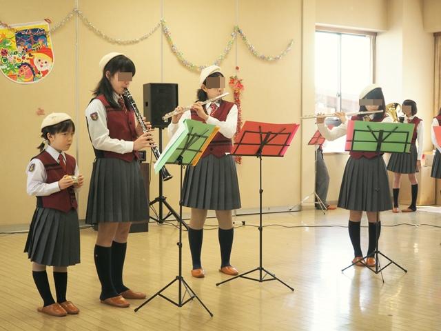 鼓笛クリスマス会2015a1
