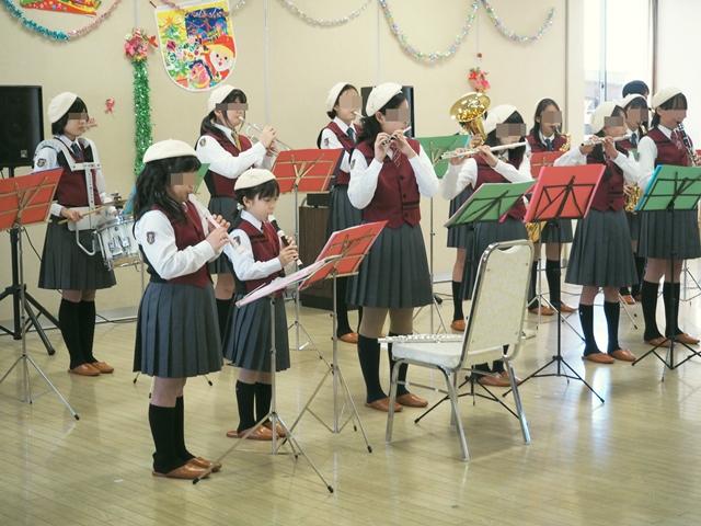 鼓笛クリスマス会2015a2