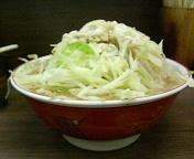 ラーメン二郎 横浜関内店 小豚ラーメン野菜マシ辛め油ちょいマシ