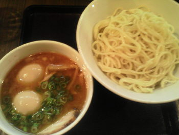 基 motoi つけ麺+味玉