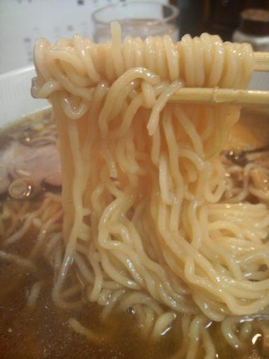 永福町大勝軒 麺です。