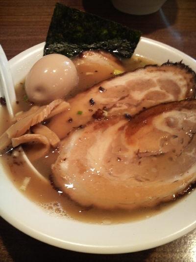 やまき屋 チャーシュー麺 大盛 味玉入り