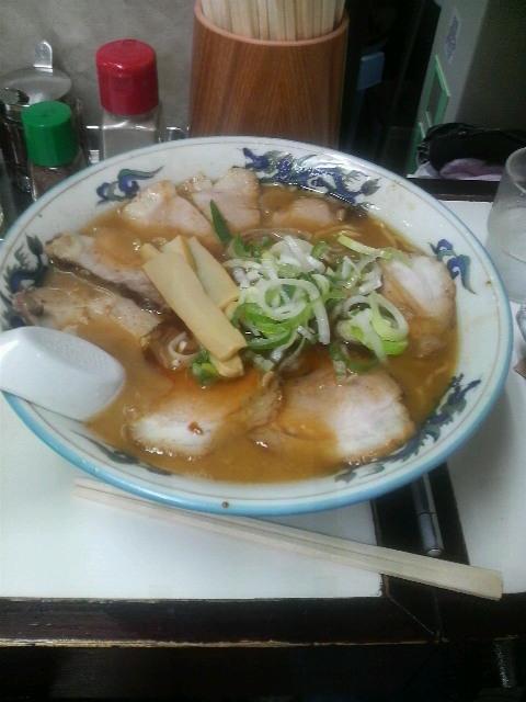 ぺーぱんチャーシュー麺