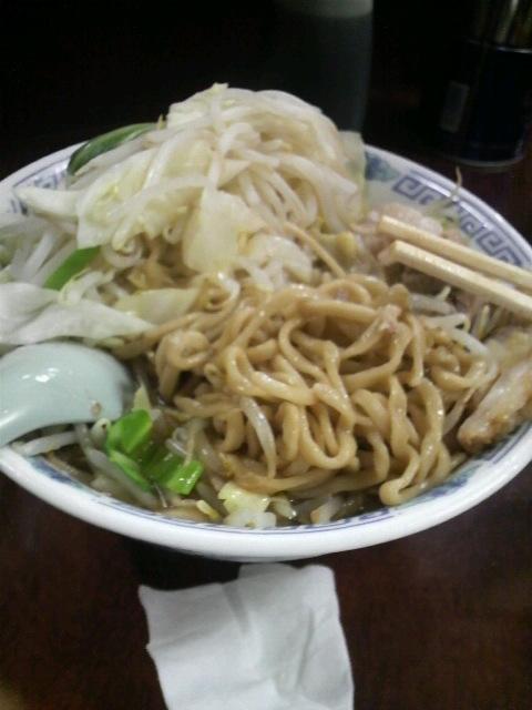 小ぶた野菜マシ麺
