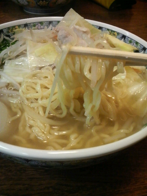 茅 野菜塩麺