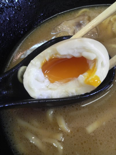 厚木 亀家の味玉
