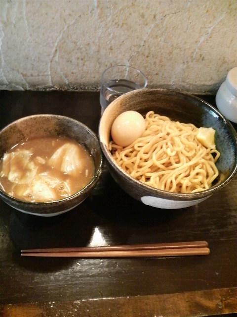 づゅる麺池田つけ麺味玉
