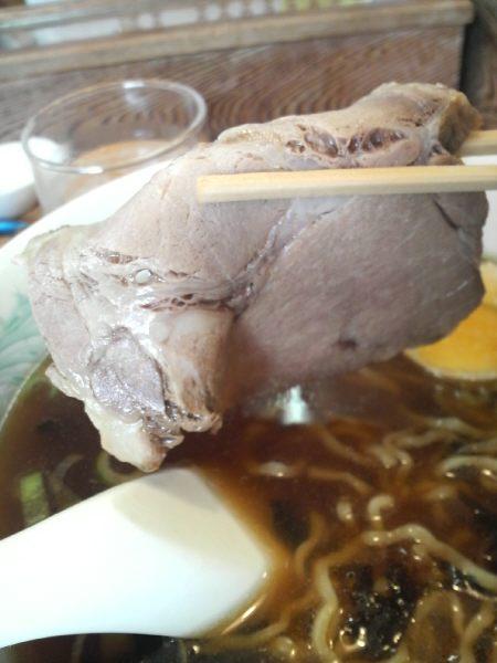 麺道楽のチャーシュー
