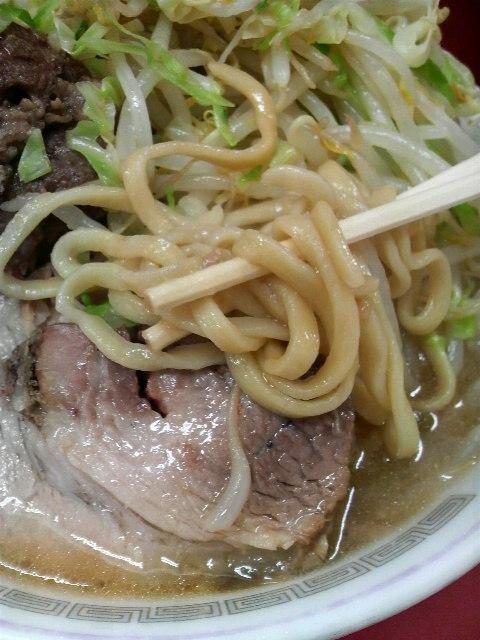 二郎相模大野店 麺