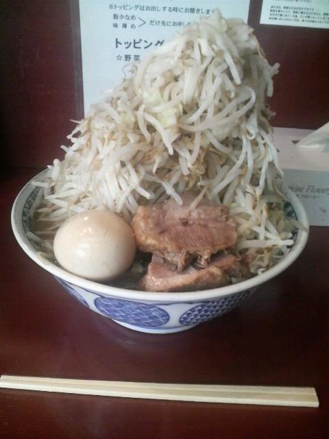 麺香房 暖々 らーめん(少し多め)