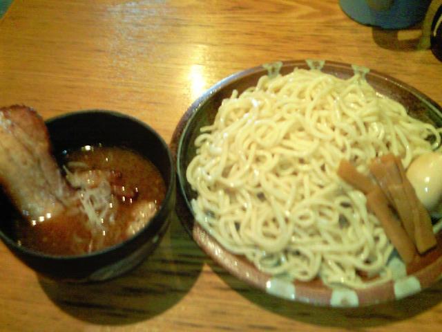 めん創桜花特製つけ麺特盛