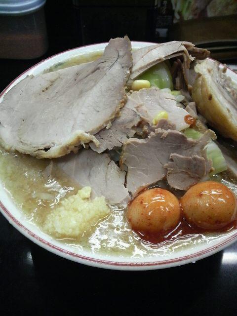 元気の源 チャーシュー麺
