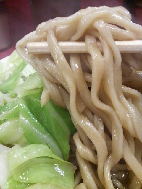 ラーメン二郎ひばりヶ丘駅前店 麺