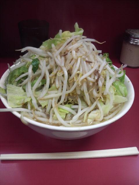 ラーメン二郎ひばりヶ丘駅前店 野菜マシ