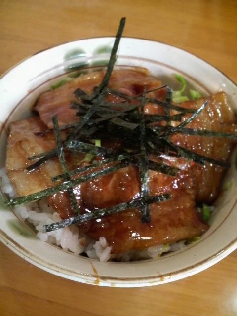 味乃やまびこ侍 チャーシュー丼