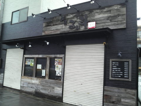 麺匠 るい斗 店の様子(開店前)